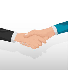 Corporate business handshake concept people vector