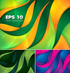 Curvy abstract background 2 vector