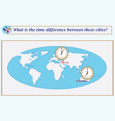 Logical task what is the time difference between vector