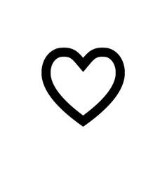 My favorites icon black vector