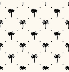 seamless geometric tropical pattern vector image
