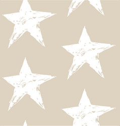 Seamless stars pattern vector