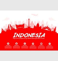 Indonesia vector image