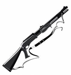 shotgun vector image