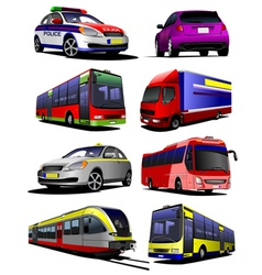 a 0448 transport 01 vector image vector image