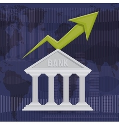 banking trade design vector image