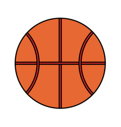 Basketball ball icon image vector