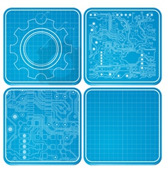 Blueprints vector