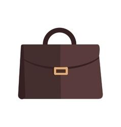 Briefcase in Flat Design vector image