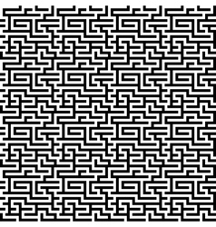 The maze labyrinth pattern vector