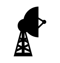 Antenna tower structure vector