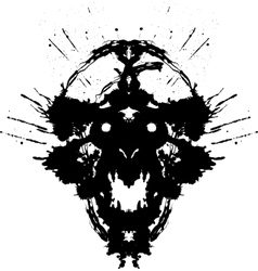 Scary Demon vector image