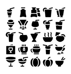 Food Icons 8 vector image