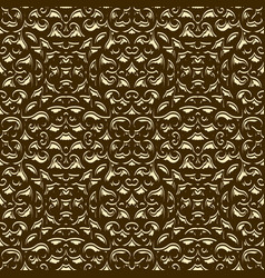 abstract gold background with crumpled texture vector image