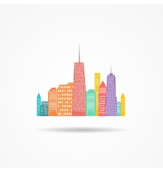 City Icon vector image