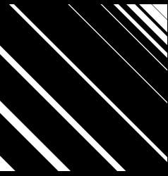 Diagonal slanted lines simple monochrome pattern vector