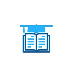 Education book logo icon design vector