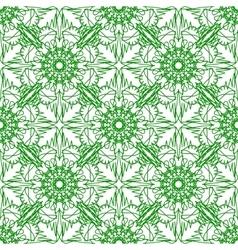 Green Seamless Texture Ornamental Backdrop vector