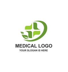 medical healthcare cross logo vector image