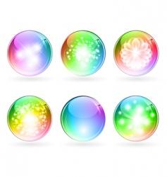 multicolored balls vector image