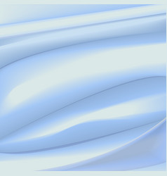 Satin light blue background vector