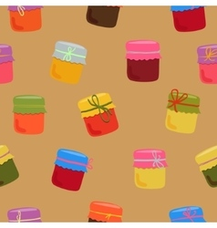 Bright jam pattern vector image vector image
