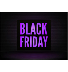 black friday discounts realistic banner vector image