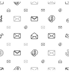Buttons icons pattern seamless white background vector