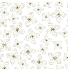 Hydrangea pattern vector