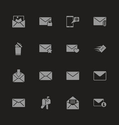 Mail - flat icons vector