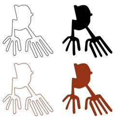 nazca lines set vector image
