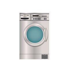 Washing machine isolated icon vector