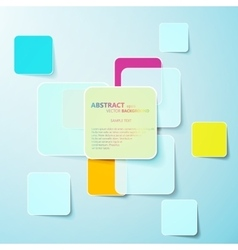 Colorful paper abstract background eps10 vector image vector image