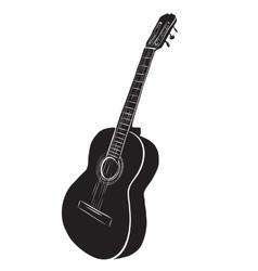 Guitar logo vector image