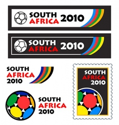 world soccer cup 2010 banners vector image vector image