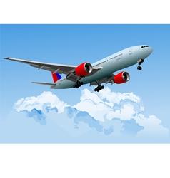 al 0218 plane 01 vector image