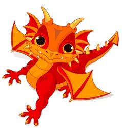 Baby dragon vector