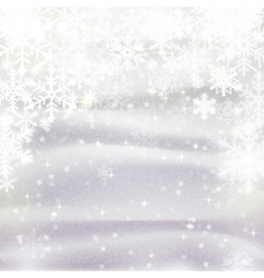 Background for Christmas and winter holiday card vector