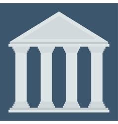 Bank of money concept vector