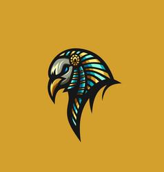 Bird anubis logo vector