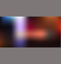 blurred abstract glowing background vector image