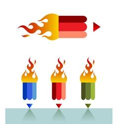 Firepencil vector