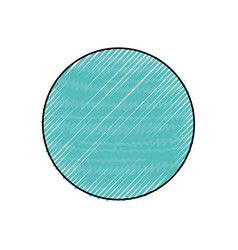 Neptune planet isolated vector