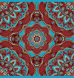 ornate colorful pattern vector image