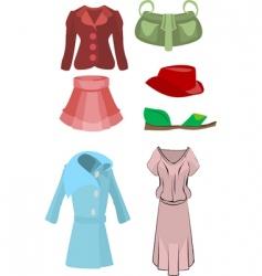Womens fashion designs vector
