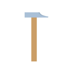 hammer icon isolated tool equipment vector image vector image