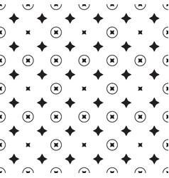 star geometric pattern seamless vector image