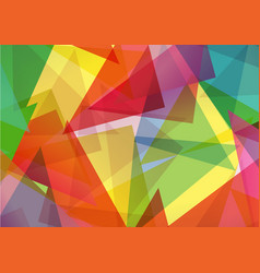 pattern of geometric shapes texture vector image vector image