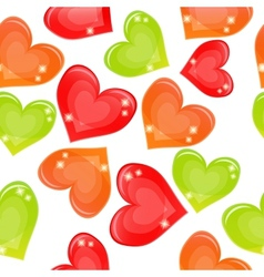Seamless background with multi-coloured candy vector image vector image