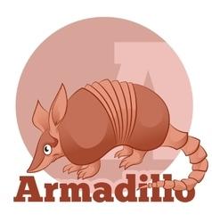 ABC Cartoon Armadillo2 vector